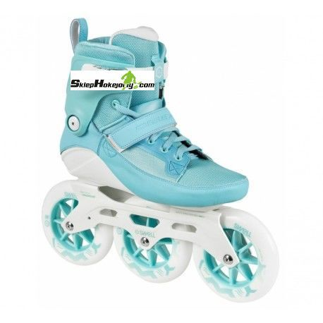 Rolki Powerslide Swell 125 fitness skates ( Light blue )